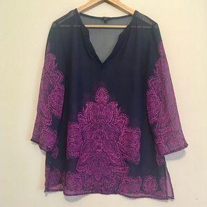 Ann Taylor light weight tunic/blouse